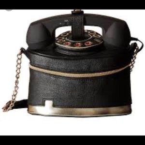 Betsey Johnson answer me phone purse